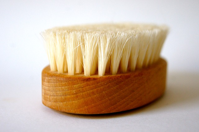 beautiful cleaning brush