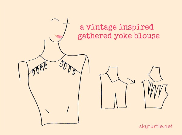 a-vintage-inspired-gathered-yoke-blouse