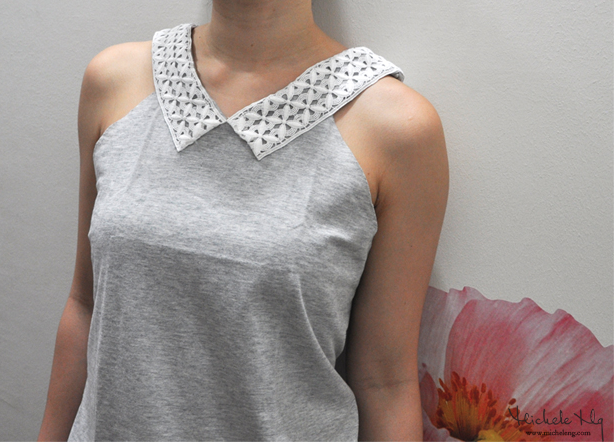 a cute tshirt refashion with lace