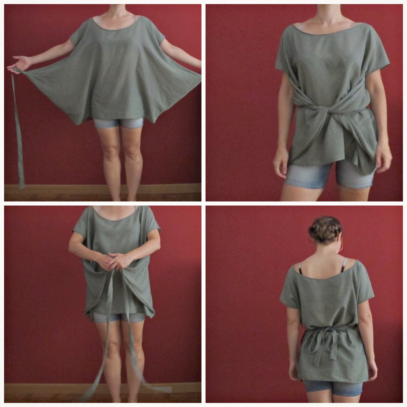How To Make A Bat Sleeve Blouse 68