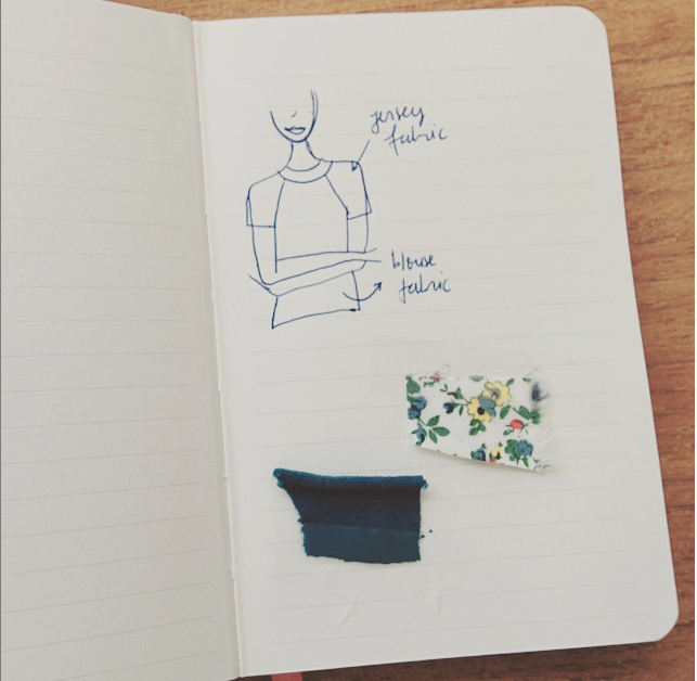 handmade sketch blouse idea diy sewing