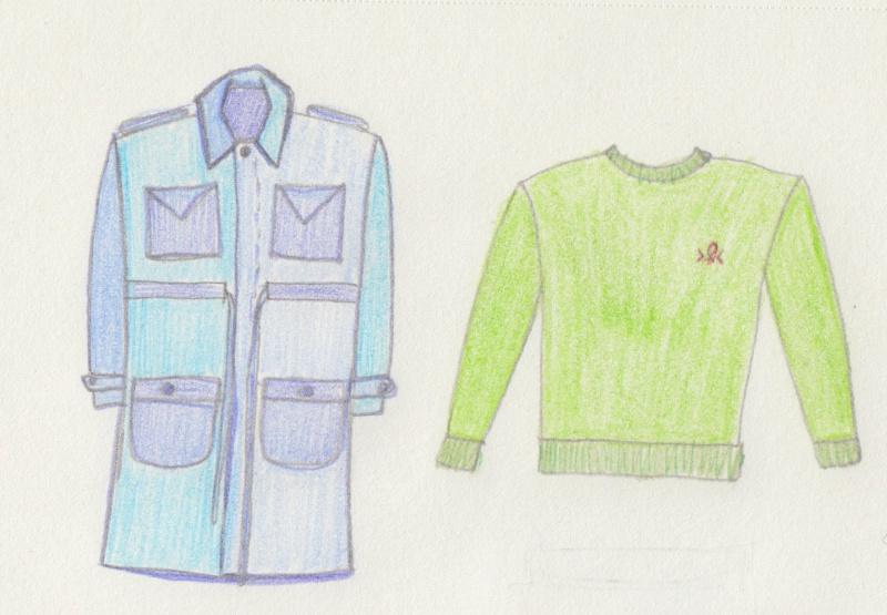 mmm16 week 2 trench and sweatshirt