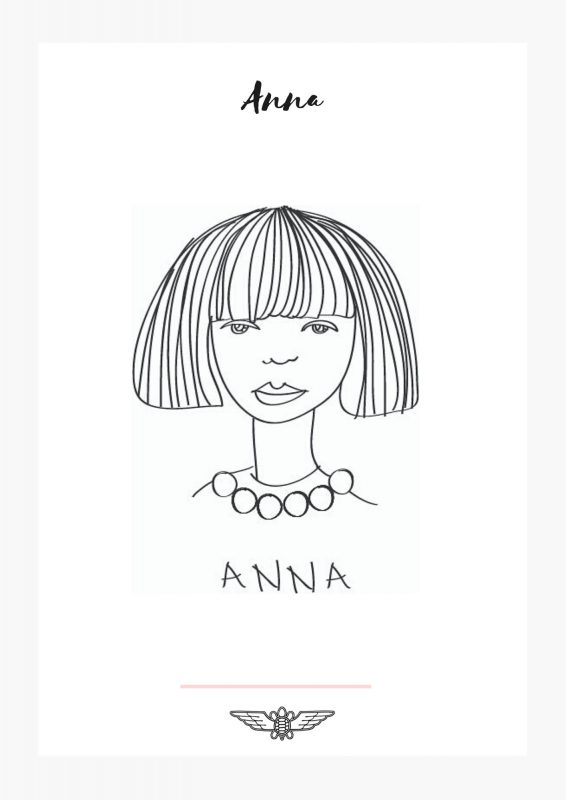 anna embroidery pattern free