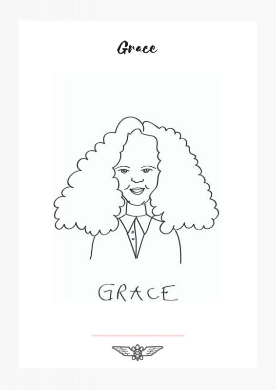 grace embroidery pattern free