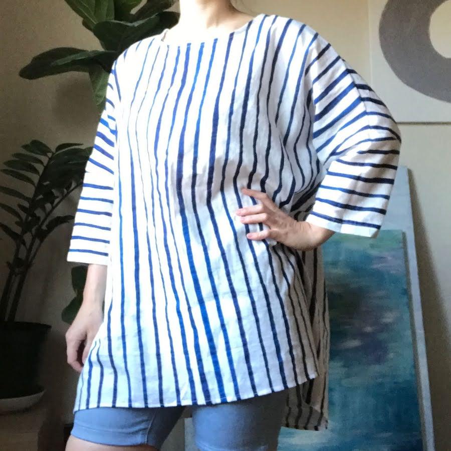 harper inspired tunic