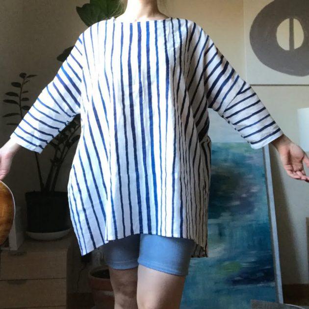 harper tunic inspired top